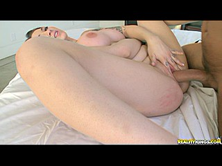 Busty Angel Blaze gets fucked hard